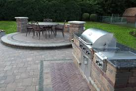 Outdoor Patio Kitchen Baron Landscaping A Outdoor Kitchen Contractor Cleveland