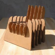 image of cardboard chairs furniture cardboard furniture for sale