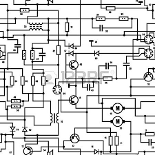 electrical diagram stock photos & pictures royalty free on simple electrical circuit with inductor diagram