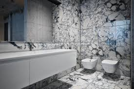 Stunning Black and White Marble Tile