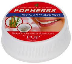 <b>Зубная паста</b> POP Popular <b>Растительная с</b> бамбуковым углем и ...