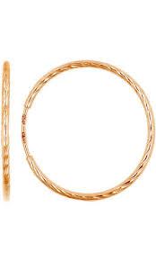 Купить <b>Серьги</b> Конго цвет золотой в интернет-магазине, за 14 ...
