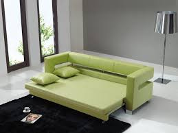living room with bed: sofa design for living room with green colour degreet