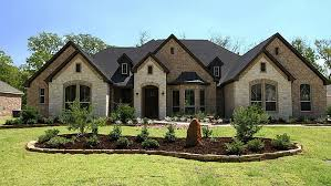 New Traditional Brick Home House Plan Trends   So Replica HousesBrick And Stone Exterior Ideas