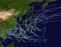 saison cyclonique 1960 dans l'océan Pacifique nord-ouest