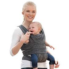 Amazon.com : Boppy ComfyFit <b>Baby Carrier</b>, Heathered Gray : Baby