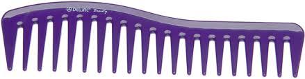 DEWAL <b>BEAUTY Гребень волна</b> фиолетовый <b>18 см</b> купить в ...