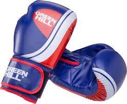 Купить <b>Перчатки боксерские Green</b> Hill BGK-2266 8oz синий (УТ ...