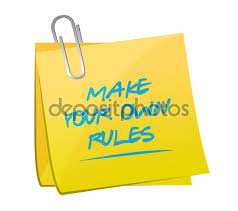 make your own rules memo post stock photo copy alexmillos  make your own rules memo post stock photo 61511629