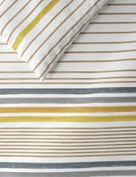 Painterly <b>Stripe Bedding Set</b> | M&S