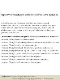 topsystemnetworkadministratorresumesamples lva app thumbnail jpg cb