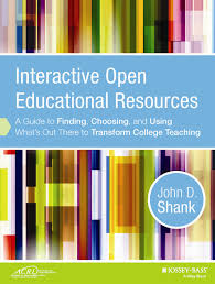 acrl sponsors new interactive open educational resources book interactive open educational resources a guide to finding choosing and using what s out