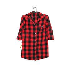 <b>Рубашка женская в</b> красно-черную клетку – секонд хенд «ЗигЗаг ...
