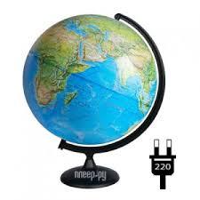 <b>Глобус Глобусный мир</b> Физико-политический 420mm 10355
