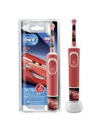 <b>Детская электрическая зубная щётка</b> Kids Тачки, 3+ лет Oral-B ...
