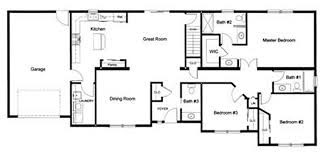floor plans:  bedroom  a   bath open modular floor plan created and designed by our customer