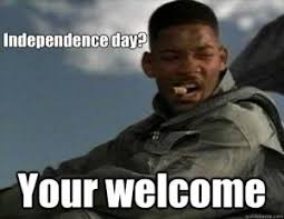Independence Day Memes | Kappit via Relatably.com