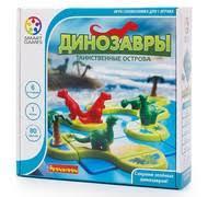 Настольная игра-головоломка <b>Динозавры</b>. Таинственные ...