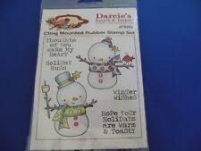 <b>Snowman Rubber Stamp for</b> sale | eBay