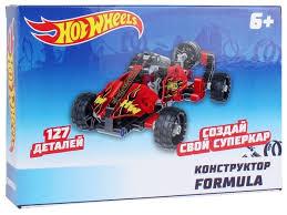 Винтовой <b>конструктор 1 TOY Hot</b> Wheels Т15402 Formula ...