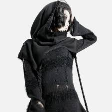 <b>Punk Rave</b> - Black Fox Scarf-Hood - Scarf - <b>Woman</b> | My Style ...