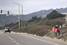 Image result for Traffic, Highway 1 Pacifica, CA picture
