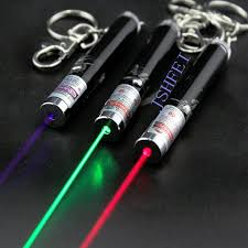 <b>JSHFEI</b> Mini Red <b>Laser Pointer</b> Pen Key Chain Toys With Action ...