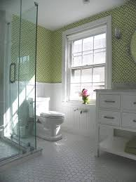 traditional style antique white bathroom: girls bathoom vintage style traditional bathroom