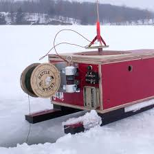 ICE FISH HOUSE PLANS   TRADITIONAL HOME PLANSComplete Plans to Make an Ice Fishing Portable