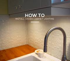 how to install under cabinet lighting cabinet lighting 6
