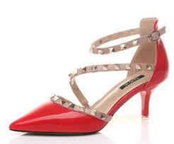 Fashion <b>Womens</b> Ladies Low <b>Heels</b> Pumps Pointed Toe Rockstud ...
