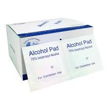<b>Alcohol</b> Wipes <b>6x6cm</b> 75% Isopropyl <b>Alcohol</b> Antibacterial Wipes ...