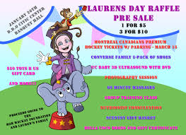 raffle ticket pre life lol lauren s birthday fundraiser is this sunday and leading up to the event we are pre selling raffle tickets there are so many great prizes in addition to the