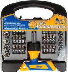 <b>Отвертка со сменными вставками</b> Kraft KT 701041 купить в ...