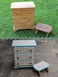 diy furniture restoration ideas. Stencil And Stain Wood Furniture Tbt Diy Restoration Ideas
