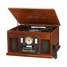 Victrola™ <b>Nostalgic</b> Classic 8-In-<b>1</b> Bluetooth® Turntable   Bed Bath ...