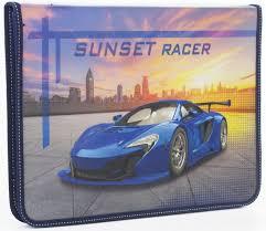 <b>Юнландия Папка для</b> труда Sunset racer А4 - Акушерство.Ru