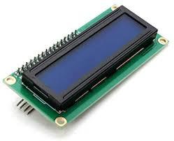 IIC / I2C <b>1602 Blue Backlight LCD</b> Display Module For: Amazon.co ...