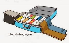 Image result for half packed suitcases cartoons