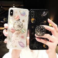 <b>Luxury Glitter Cute Space</b> Planet Universe Silicone Designer iPhone ...