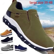 <b>Men</b> Fashion Brand Waterproof Hiking <b>Shoes Leather</b> Outdoor ...