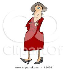 Image result for cartoon illustration of a angry woman