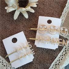Fashion Hair Accessories Handmade <b>Barrette</b> Flower Gold <b>Crystal</b> ...