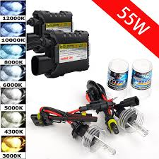 Xenon HID Conversion Kit 6000K 8000k 10000k 12000k H1 H3 <b>H4</b> ...