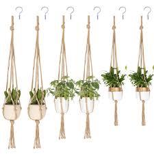 Blueeyes Высококачественные <b>вешалки</b> для растений в макраме ...