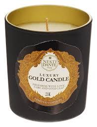<b>Ароматическая свеча 60th</b> Anniversary Luxury Gold 160г ...