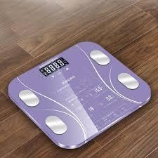 Generic <b>180KG</b> Digital Smart Touch <b>Body Fat Scale</b> Measures ...