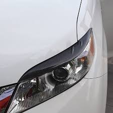 <b>lsrtw2017 car</b> styling <b>carbon fiber car</b> headlight trims for toyota ...