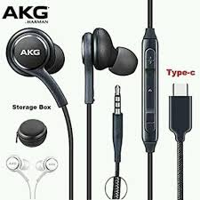 Smartboxes - <b>AkG 3.5mm wired in-line</b> Earphones stereo... | Facebook
