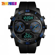 <b>SKMEI</b> 1355 Men's <b>Military 3</b> Time Sports Outdoor Quartz Digital ...